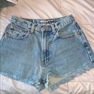 Gap Jean Shorts High Waisted